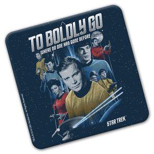[Star Trek: The Original Series: Coaster: Crew & Badge (Product Image)]
