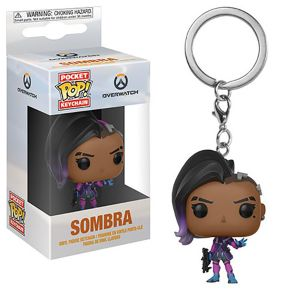 [Overwatch: Pocket Pop! Vinyl Keychain: Sombra (Product Image)]