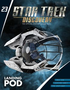 [Star Trek: Discovery: Figure Magazine #23: Discovery Shuttle Pod (Product Image)]