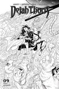 [Dejah Thoris: 2019 #9 (Georgiev Black & White Variant) (Product Image)]
