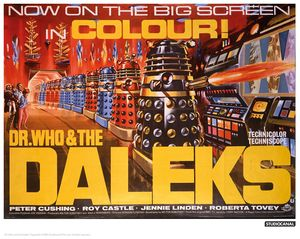 [Doctor Who: Limited Edition Print: Daleks In Colour (Product Image)]