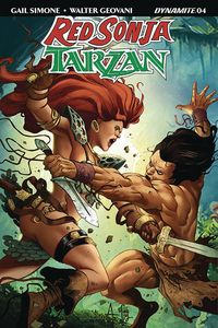 [Red Sonja/Tarzan #5 (Cover B Davila) (Product Image)]