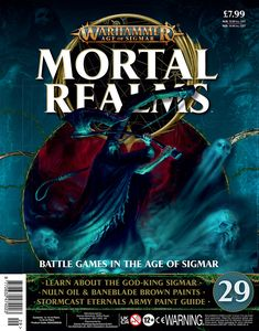 [Warhammer: Age Of Sigmar: Mortal Realms #29 (Product Image)]