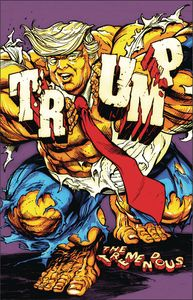 [Tremendous Trump: Man Child Covfefe (Limited Chase Variant One Shot) (Product Image)]