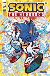 [Sonic The Hedgehog #25 (Cover A Hesse) (Product Image)]