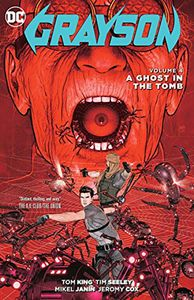 [Grayson: Volume 4: A Ghost In The Tomb (Product Image)]