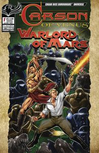 [Carson Of Venus/Warlord Of Mars #1 (Warriors Cover Mesarcia) (Product Image)]