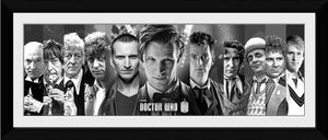 [Doctor Who: 50th Anniversary: Framed Print: 11 Doctors (30x12) (Product Image)]