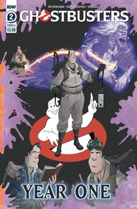 [Ghostbusters: Year One #2 (Cover A Shoening) (Product Image)]