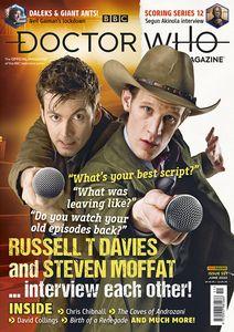 [Doctor Who Magazine #551 (Product Image)]