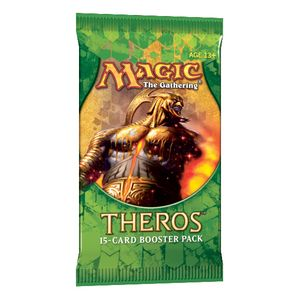 [Magic The Gathering: Theros Booster (Product Image)]
