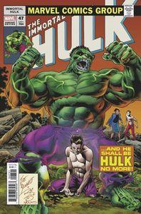 [Immortal Hulk #47 (Bennett Homage Variant) (Product Image)]