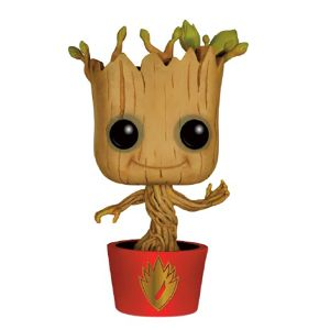 [Guardians Of The Galaxy: Pop! Vinyl Figures: Galaxy Ravagers Logo Dancing Groot (Product Image)]