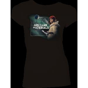 [His Dark Materials: Women's Fit T-Shirt: Lyra & Pan (Product Image)]