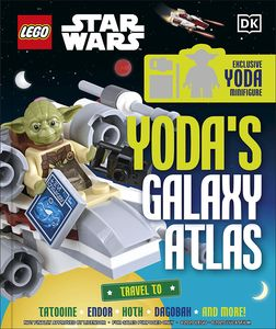 [LEGO Star Wars: Yoda's Galaxy Atlas (Hardcover) (Product Image)]