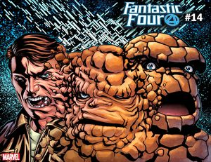 [Fantastic Four #14 (Mckone Immortal Thing Variant) (Product Image)]