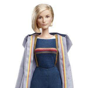 Mattel Doctor Who Doctor Who Barbie Doll The Thirteenth Doctor Forbiddenplanet Com Uk And Worldwide Cult Entertainment Megastore