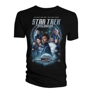 [Star Trek: Discovery: T-Shirt: The Crew & Badge (Season 3) (Product Image)]