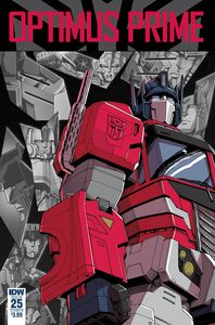 [Optimus Prime #25 (Cover B - Coller) (Product Image)]