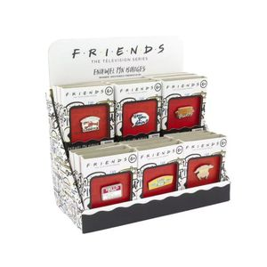 [Friends: Enamel Pin Badges (Product Image)]