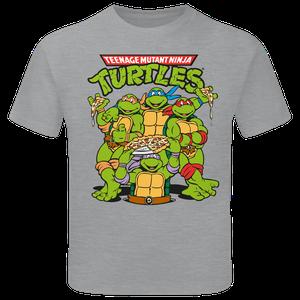 [Teenage Mutant Ninja Turtles: Children's T-Shirt: Group Shot (Product Image)]