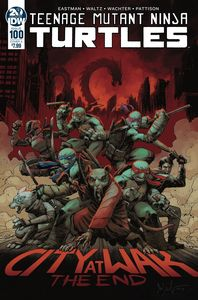 [Teenage Mutant Ninja Turtles: Ongoing #100 (Cover A Wachter) (Product Image)]