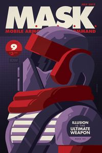 [M.A.S.K.: Mobile Armored Strike Kommand #9 (Cover B Whalen) (Product Image)]