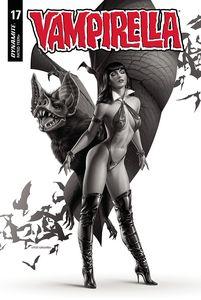 [Vampirella #17 (Iakovlev Black & White Variant) (Product Image)]