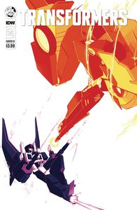 [Transformers #36 (Cover B Red Powell) (Product Image)]