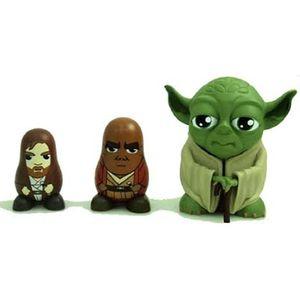 [Star Wars: Series 1 Chubby: Yoda, Mace Windu & Obi-Wan Kenobi (Product Image)]