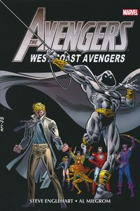 [Avengers West: Coast Omnibus: Volume 2 (DM Edition - Al Milgrom Cover) (Product Image)]