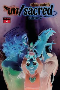 [Mirka Andolfos: Unsacred: Volume 2 #4 (Andolfo Negative Cover B Variant) (Product Image)]