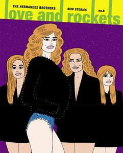 [Love & Rockets: New Stories: Volume 8 (Product Image)]