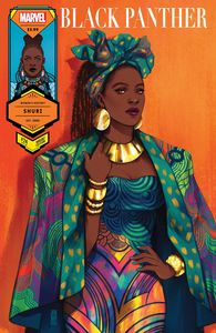 [Black Panther #24 (Bartel Shuri Womens History Month Variant) (Product Image)]