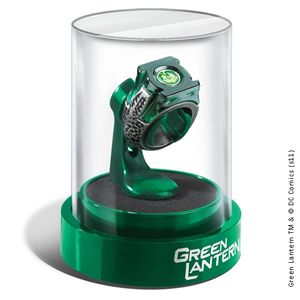 [Green Lantern: Prop Replica: Power Ring & Display (Product Image)]