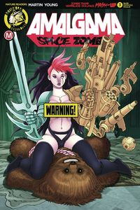 [Amalgama: Space Zombie #3 (Cover D Espinosa Risque) (Product Image)]
