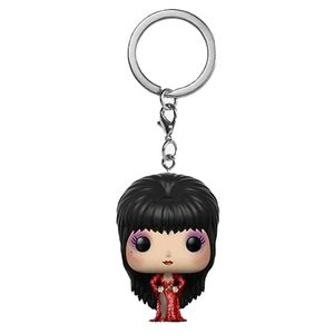 [Elvira: Pocket Pop! Vinyl Keychain: Elvira In Red Dress (Product Image)]