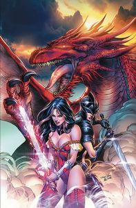 [Grimm Fairy Tales: 2019 Annual #1 (Cover B Silva) (Product Image)]