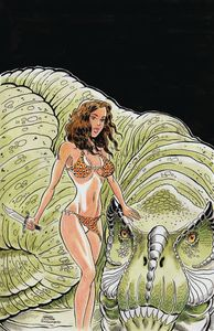 [Cavewoman: Dragon #1 (Cover A Durham) (Product Image)]