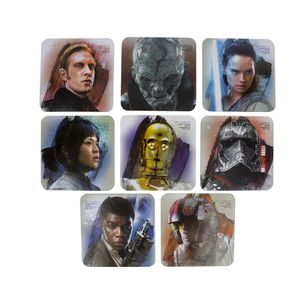 [Star Wars: The Last Jedi: Set Of 8 Card Coasters (Product Image)]