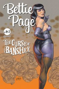 [Bettie Page: The Curse Of The Banshee #2 (Cover B Linsner) (Product Image)]