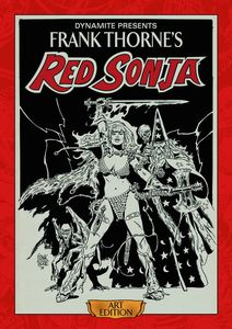 [Frank Thorne's Red Sonja Art Edition (Hardcover) (Product Image)]