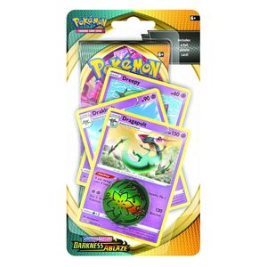 [Pokemon: Sword & Shield 3: Darkness Ablaze: Premium Checklane Booster Pack (Product Image)]