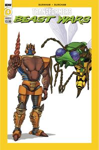 [Transformers: Beast Wars #4 (Cover B Dan Schoening) (Product Image)]