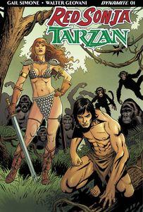 [Red Sonja/Tarzan #1 (Cover D Geovani) (Product Image)]