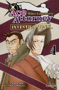 [Miles Edgeworth: Ace Attorney: Investigations: Volume 4 (Product Image)]
