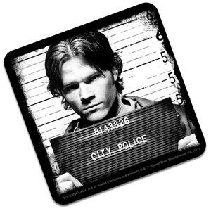 [Supernatural: Coaster: Sam Mugshot (Product Image)]