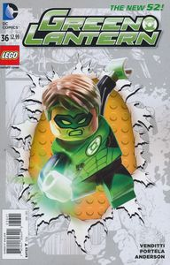 [Green Lantern #36 (Lego Variant Edition) (Godhead) (Product Image)]