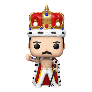 [Queen: Pop! Vinyl Figure: Freddie Mercury (King) (Product Image)]