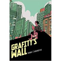 [Ram V signing Grafity's Wall, Batman: Secret Files and These Savage Shores (Product Image)]
